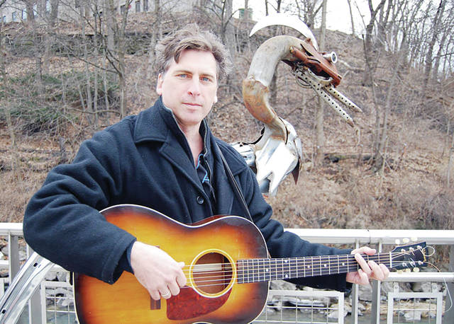 """Renowned folk musician Joe Crookston will perform at the Fayette Opera House on Saturday, Sept. 30, at 7:30 p.m. Crookston is a songwriter, guitarist, painter, and fiddler whose recording, """"Able Baker Charlie & Dog"""" was awarded Album of the Year by Folk alliance International. Joe's live performances are multi-media celebrations feature looped fiddle, video, slide guitar, and songs. Tickets are $12 for general admission, $10 for seniors and students, Children 12 and under admitted free with paid adult ticket. Tickets can be purchased online at www.brownpapertickets or call 419-237-2721 to reserve tickets for pick-up at the box office, cash or check only."""