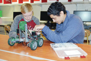 WHS enters realm of robotics
