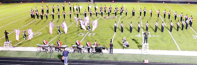 """The Wauseon High School Marching Indians Band will compete Saturday, Oct. 21, 5:15 p.m., at the annual Swanton BullDog Bowl Band Competition. The band will perform its 2017 competition show, """"Bach, Beethoven, and the Boys – The Classical Mystery Tour,"""" featuring the music of Johann Sebastian Bach, Ludwig von Beethoven, and The Beatles in a fun and creative mash-up. The Marching Indians are under the field direction of Paige Moden and Sophia Stockham. The band is guided by Director Don Clark, Assistant Director Amanda Aniolowski, Director of Percussion Dr. Mark Cook, Color Guard Director Jamie Clark, and Visual Coordinator Austin Brown."""