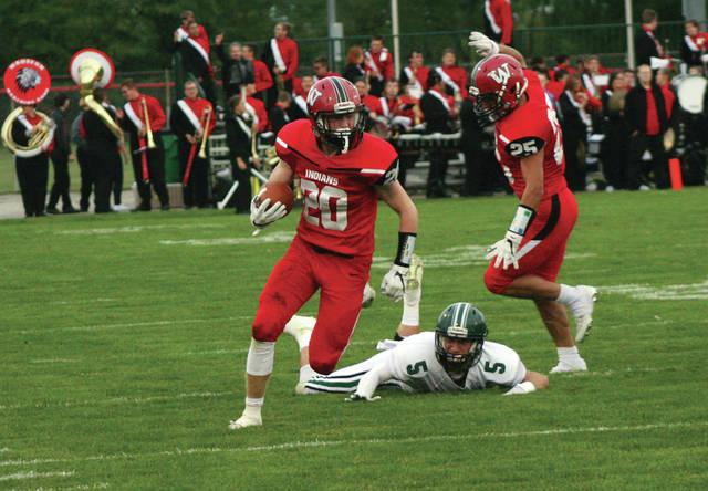Wauseon running back Everett Bueter was recently selected first team all-district offense in Division IV.