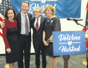 DeWine chooses Husted as running mate