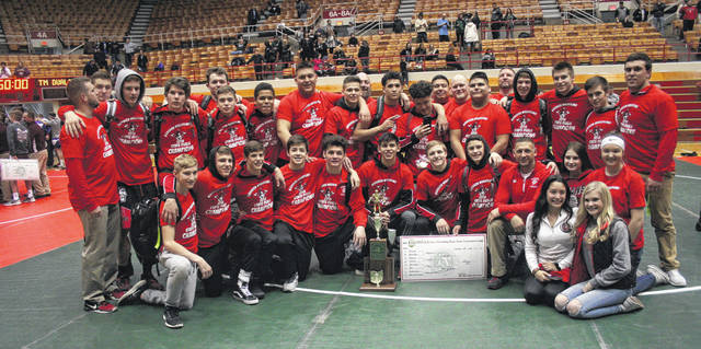 The Wauseon wrestling team secured the program's first Division II State Dual Title Sunday at St. John Arena in Columbus. They won the title after finishing runner-up the previous two seasons.