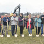 Ground broken for board office