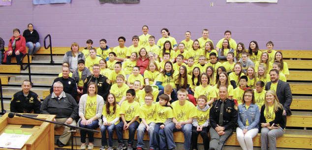 The Fayette Middle School D.A.R.E members held a graduation ceremony March 1.