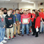 Mayor, Council honor wrestling team