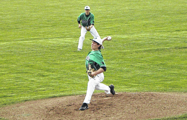 Cole Mattin of Delta earned the win on the mound Wednesday when the Panthers defeated Northwood 11-1 in a Division III sectional semifinal. He went all five innings, allowing only five hits with one strikeout.