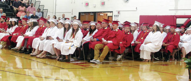 The Wauseon High School Class of 2018.