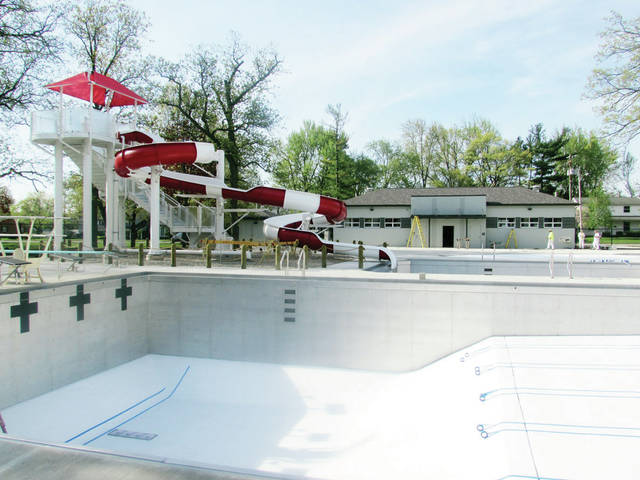 The new Wauseon community pool may not be ready for its intended opening on Memorial Day weekend.