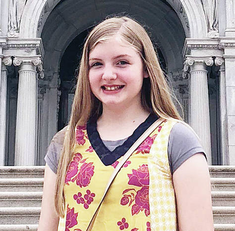 Pettisville student Lyla Heising reached the third round last week of the Scripps National Spelling Bee in Washington, D.C.