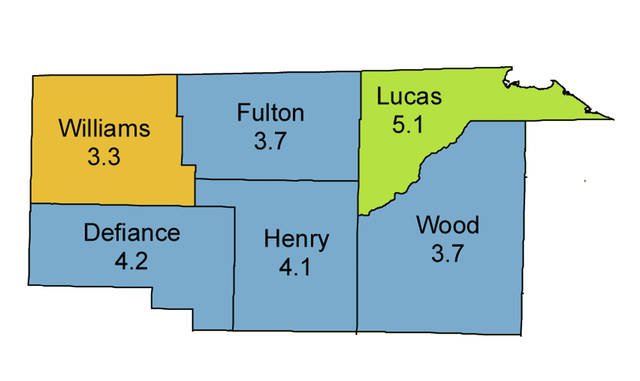 Unemployment in Fulton County did not change from April to May this year.