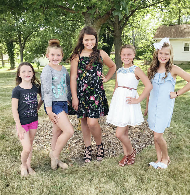 The Junior Pageant at Homecoming will be Saturday at 2 p.m. on the South Stage. The contestants are Ariah Tussinger, Lena Gorsuch, Brailyn Fogarty, Brooklyn Drain and Bella McGuire.