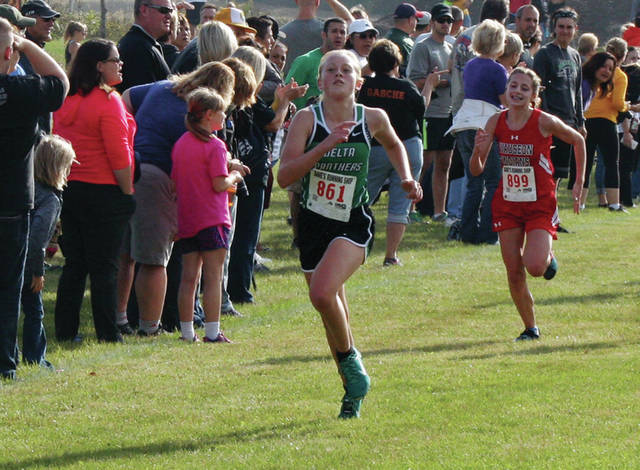 Jenna Hallett returns for her sophomore season at Delta. She was a regional qualifier in 2017 as a freshman.