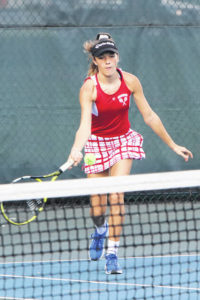 Indians blanked by Golden Bears in tennis, 5-0